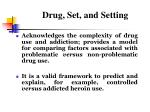 drug set and setting1