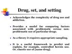 drug set and setting2