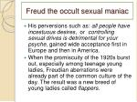 freud the occult sexual maniac1