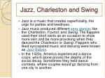 jazz charleston and swing