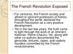 the french revolution exposed