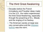 the third great awakening