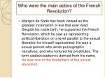 who were the main actors of the french revolution3