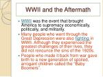 wwii and the aftermath