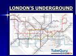 london s underground