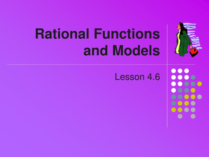rational functions and models n.