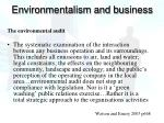 environmentalism and business2