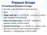 pressure groups4