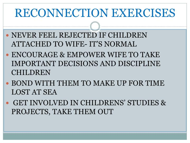 RECONNECTION EXERCISES