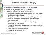 conceptual data models 1