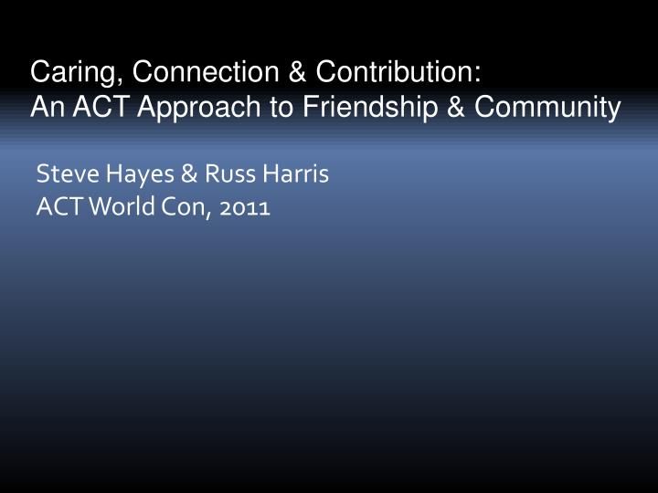 steve hayes russ harris act world con 2011 n.