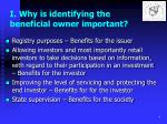 i why is identifying the beneficial owner important