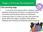stages of group development1