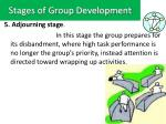 stages of group development4
