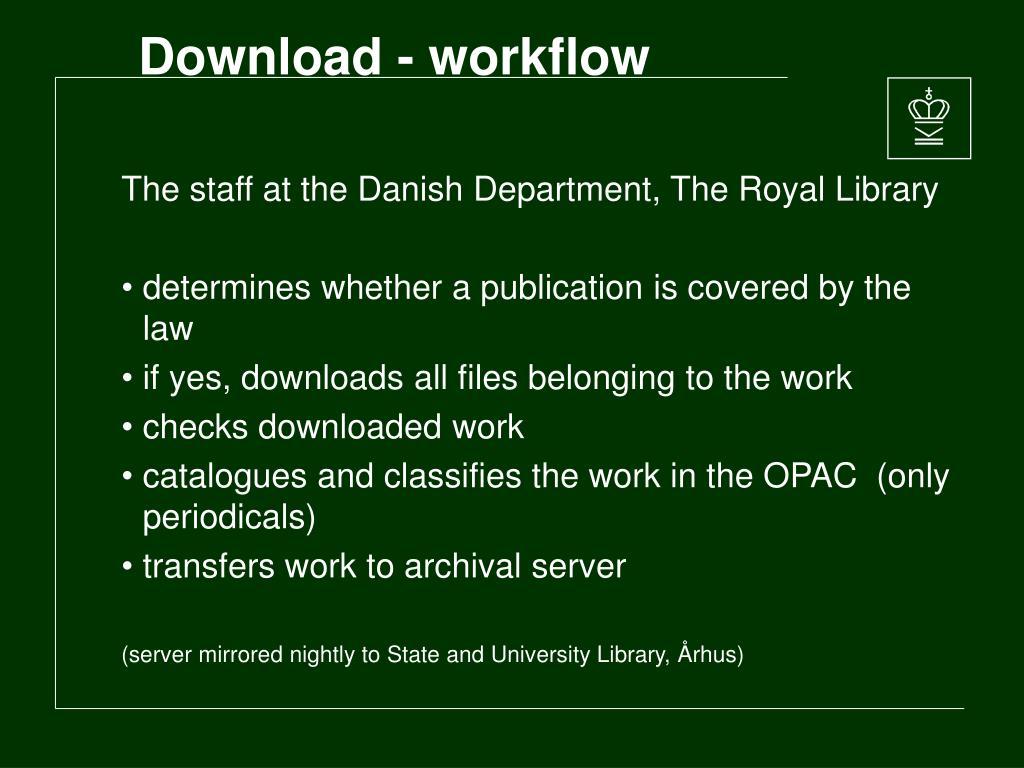 Download - workflow