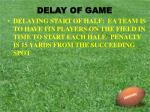 delay of game1