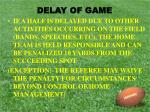 delay of game2