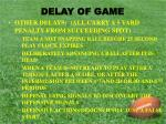 delay of game3