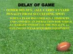 delay of game4
