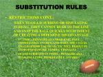 substitution rules10