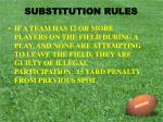 substitution rules11