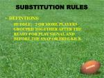substitution rules2