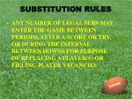 substitution rules3