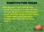 substitution rules7