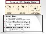 diode at dc steady state