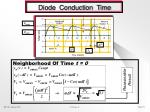 diode conduction time