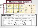 maximum diode current