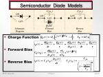 semiconductor diode models
