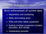 current solutions enforcement2
