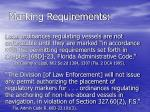 marking requirements