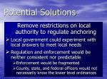 potential solutions4