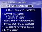 the problems associated with unregulated anchoring4