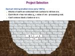 project selection4
