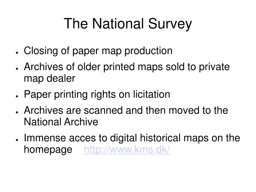 The National Survey
