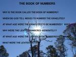the book of numbers1