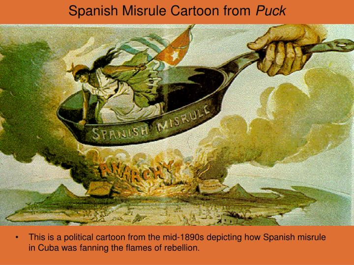 Ppt Spanish Misrule Cartoon From Puck Powerpoint