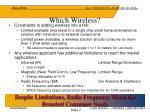 which wireless