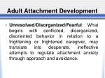 adult attachment development2