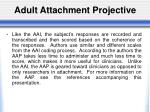 adult attachment projective1