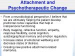 attachment and psychotherapeutic change2