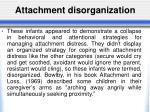 attachment disorganization1