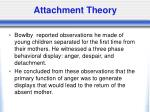 attachment theory2