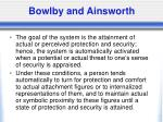 bowlby and ainsworth2