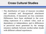 cross cultural studies1