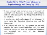 daniel stern the present moment in psychotherapy and everyday life2
