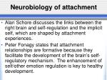 neurobiology of attachment1